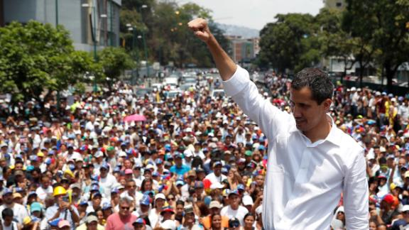 Guaido, who has been recognized by many countries as Venezuela