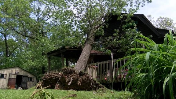 Storms in Oklahoma have brought tornadoes causing additional damage to the area.