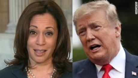 Kamala Harris on Trump calling her 'nasty': I want to pursue justice 'and you can call that whatever name you want'