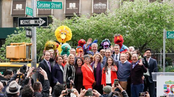 In honor of Sesame Street