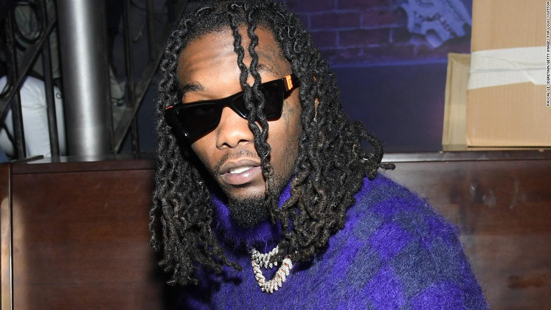 Police issue arrest warrant for Offset for allegedly knocking a phone off a fan's hand