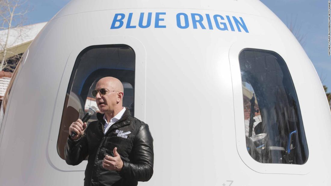 Jeff Bezos unveils new plans for Blue Origin spaceflight: Live updates