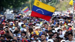Venezuelan opposition leader Juan Guaido calls for US help in letter