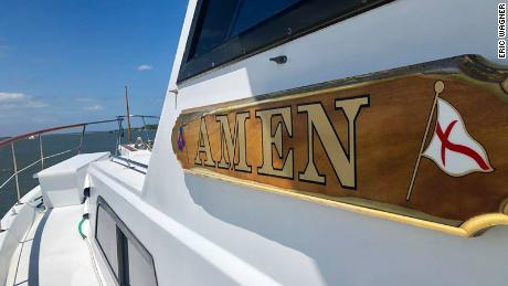 5b41f6f58b88a Two stranded teens in ocean rescued by boat named  Amen  - CNN Video