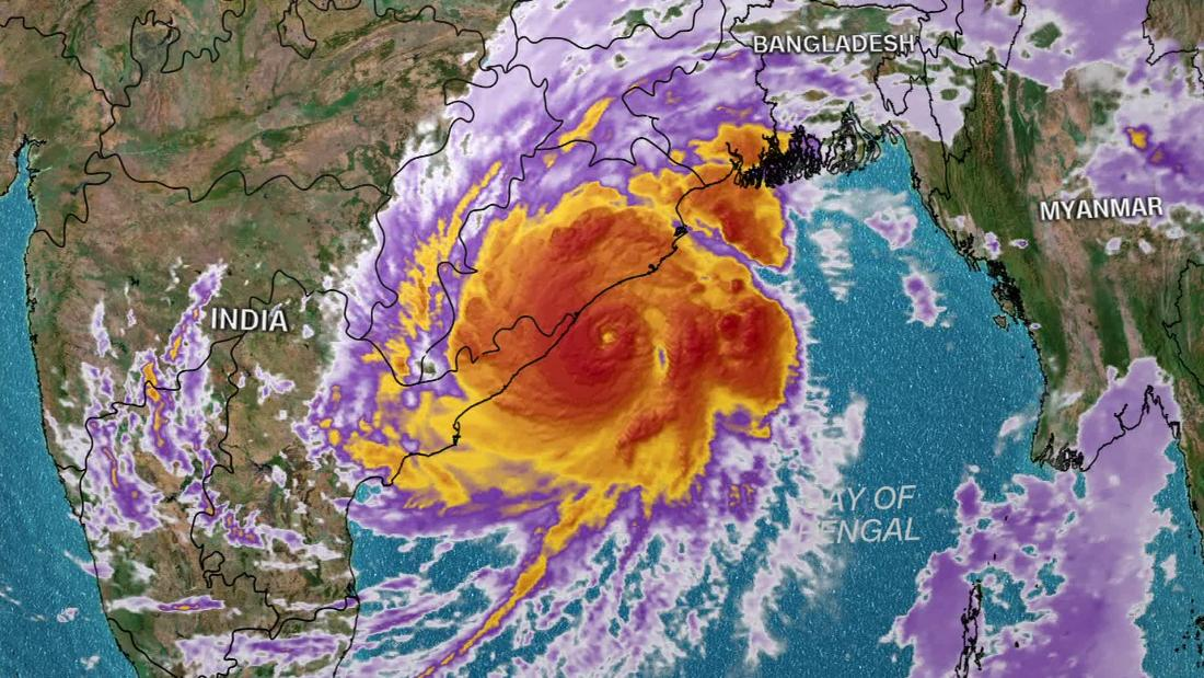 100 million people in path of India's strongest cyclone in 20 years