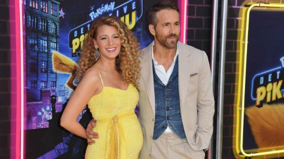 Actors Blake Lively and Ryan Reynolds let the picture on a red carpet be worth a thousand words in May. It will be the third child for the superstar couple who married in 2012.