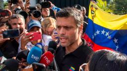 Venezuela's Lopez says he met generals during house arrest