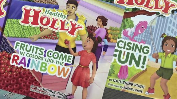 """""""Healthy Holly,"""" the children's book authored by former Mayor Catherine Pugh."""