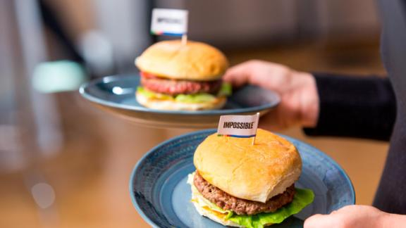 For now, consumers can only buy Impossible products at restaurants.