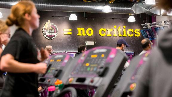 """Retailers like Toys """"R"""" Us, Sears and Sports Authority and others are vanishing. Planet Fitness is stepping in to fill the abandoned spaces they left behind."""