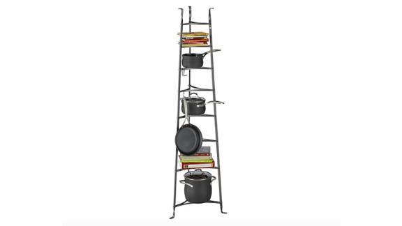 Enclume Standing 8-Tier Pot Rack ($349.95; crateandbarrel.com)