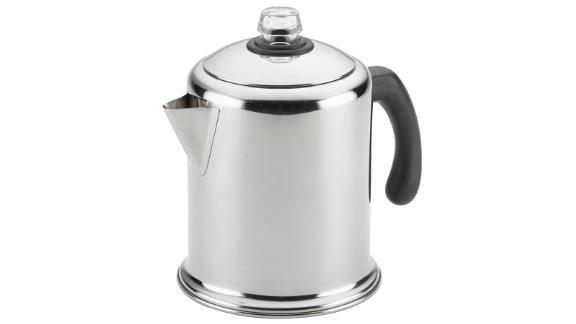 Farberware Classic Stainless Steel Yosemite 12-Cup Coffee Percolator ($37.99; walmart.com)