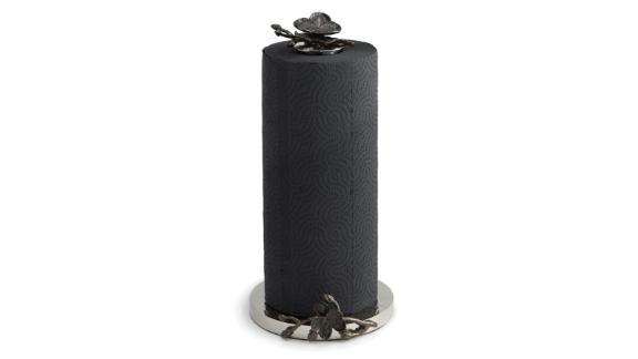 Black Orchid Paper Towel Holder ($135; saksfifthavenue.com)
