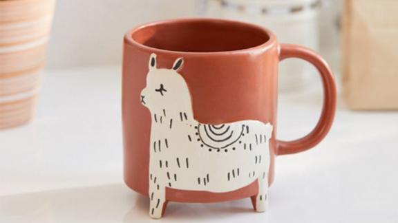 Llama Ceramic Mug ($14; urbanoutfitters.com)