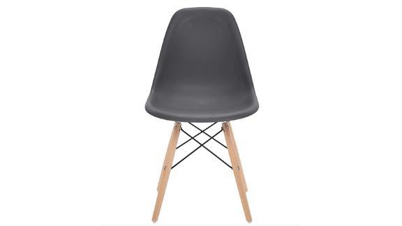Phoenix Home Kenitra Contemporary Plastic Dining Chair, Earthy Gray ($69.99; amazon.com)