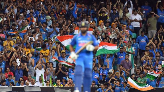 There are few fanbases more passionate and colorful than that of India's cricket team.