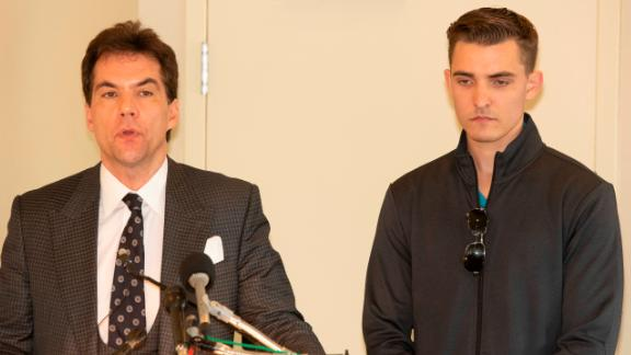 Jack Burkman and Jacob Wohl in 2018.