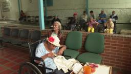 Elderly caught in brutal trap of Venezuelan crisis