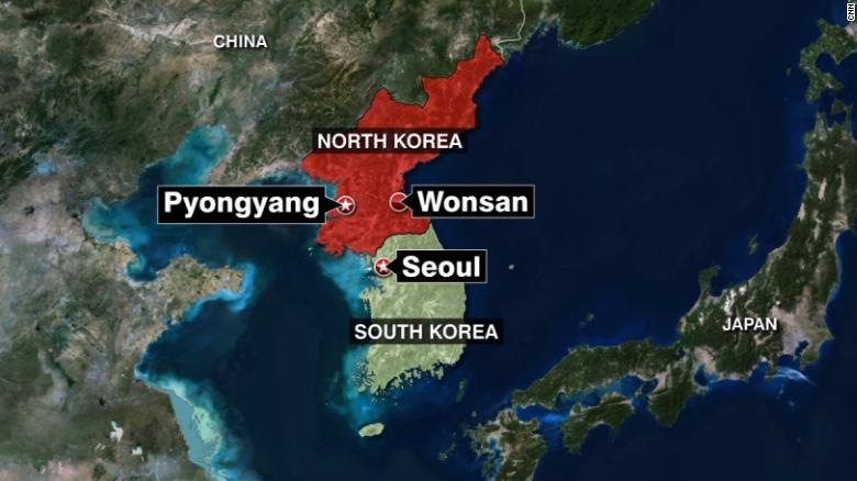 South Korea: North Korea test fires projectiles
