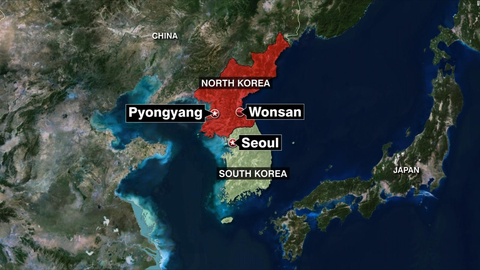 Image of: North Korea Says It Test Fired Long Range Projectiles South Korean Officials Cnn