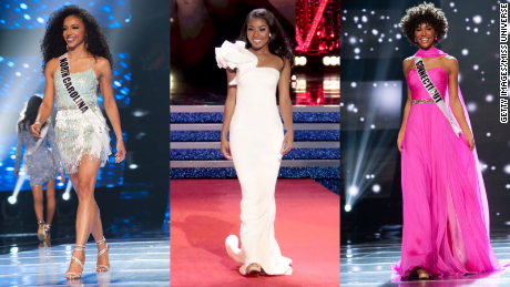 Miss USA, Miss America and Miss Teen USA are all black women