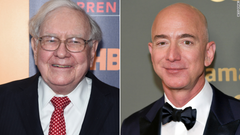 Buffett says Bezos has created a 'miracle' with Amazon