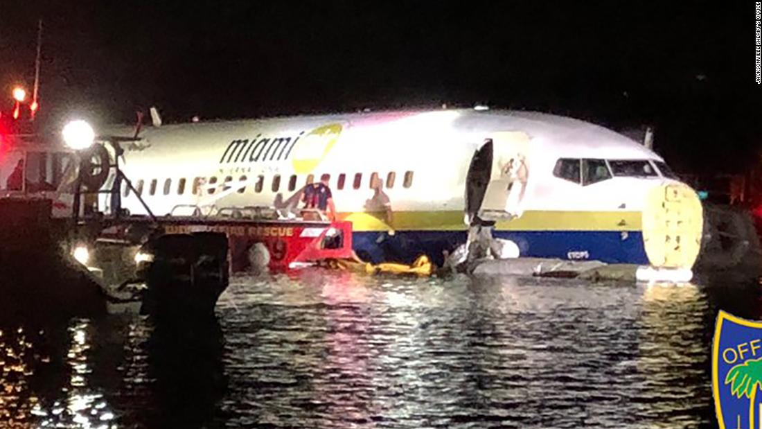 Flight data recorder recovered from plane that slid into Florida river with 143 people aboard, NTSB says