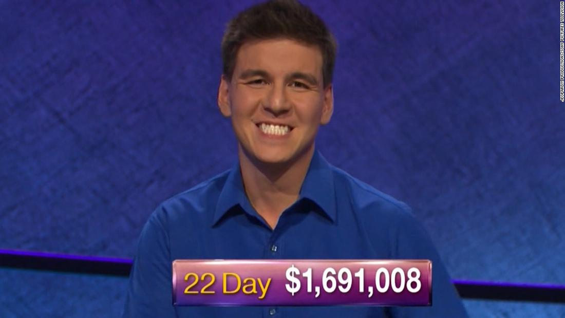 'Jeopardy!' champion James Holzhauer is back on Monday. Here's where he stands