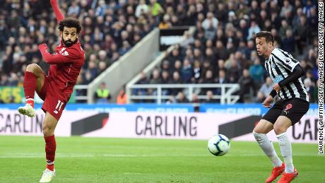 Mo Salah 'OK' after suffering head injury against Newcastle - CNN