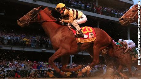 Trainer defends Kentucky Derby win via disqualification