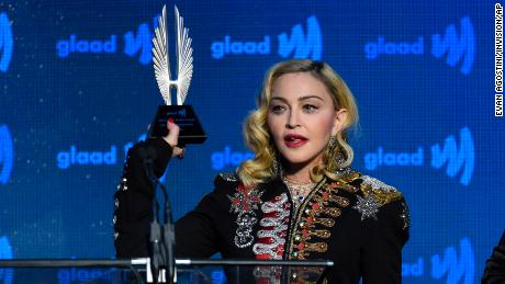 Eurovision: Madonna mixes politics with a classic hit during performance