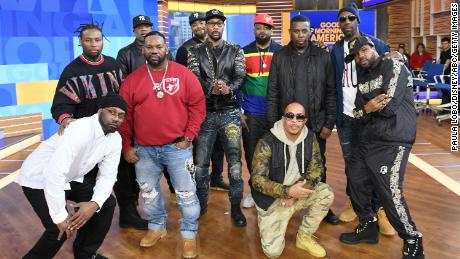 "GOOD MORNING AMERICA - Wu-Tang Clan perform live on ""Good Morning America,"" on Friday, November 9, 2018 on ABC.  (Photo by Paula Lobo/ABC via Getty Images) WU-TANG CLAN"