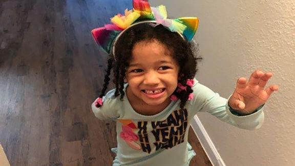 Houston police provided this image of missing 5-year-old Maleah Davis.