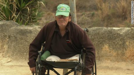 Omar Ochoa, 74, thought he'd have a nice retirement due to having had a good job and income, but now he sits in a wheelchair with both legs amputated due to untreated complications from diabetes.