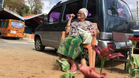 Victoria Madriz, 74, has been a resident here for more than a decade. She came after her family decided they couldn't afford to house and feed her as well as the rest of the family.