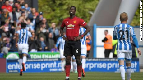 Manchester United Huddersfield Draw Ruins Champions League Hopes Cnn