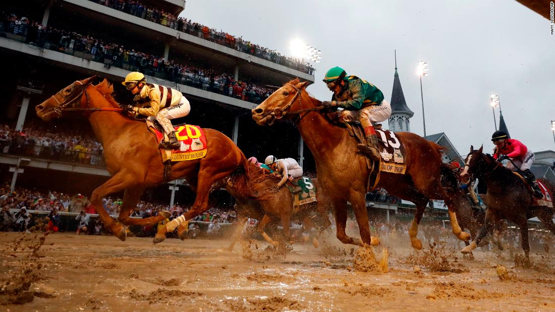 "Flavien Prat rides Country House to victory during the <a href=""https://www.cnn.com/2019/05/04/sport/gallery/kentucky-derby-2019/index.html"" target=""_blank"">145th running of the Kentucky Derby</a> at Churchill downs on Saturday, May 4, in Louisville, Kentucky. Although Country House crossed the finish line second, the horse was declared the winner after Maximum Security was <a href=""https://www.cnn.com/2019/05/04/sport/kentucky-derby-maximum-security/index.html"" target=""_blank"">disqualified</a>. It was the first time a Derby winner was disqualified because of a foul on the track."