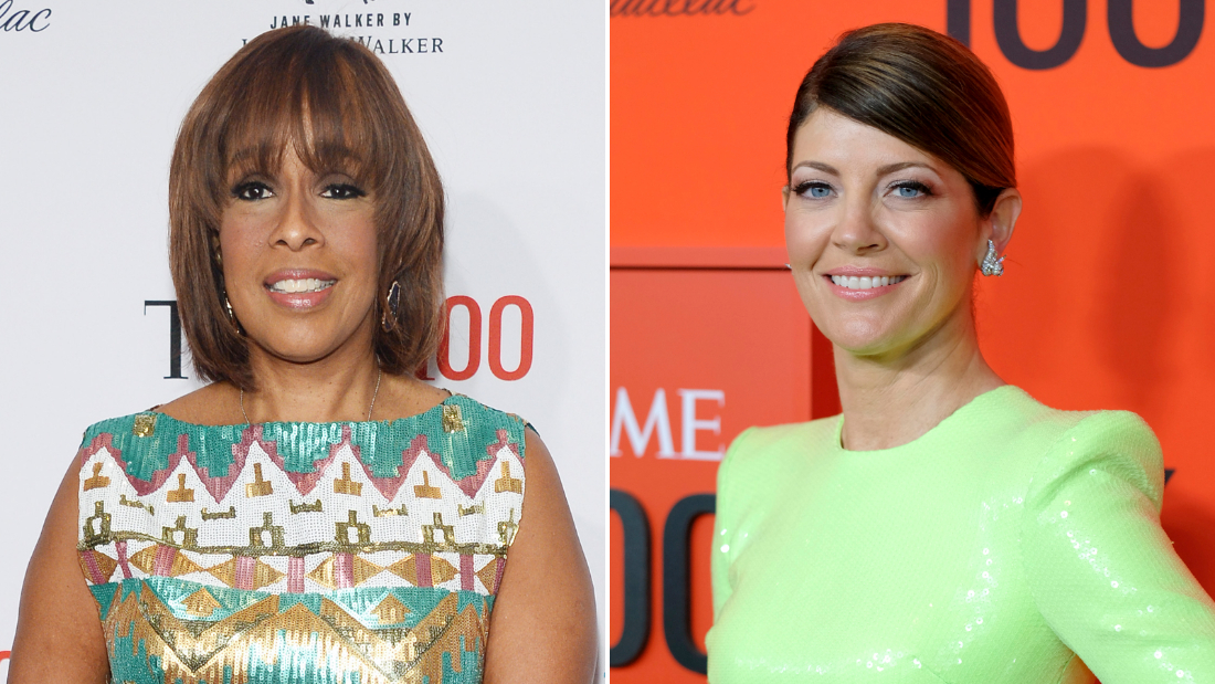 Gayle King (left) and Norah O