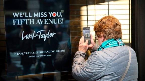 Lord & Taylor sold its flagship Fifth Avenue store in New York to WeWork in 2017.