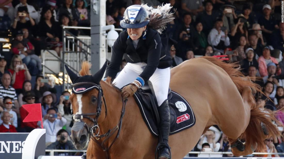 Danielle Goldstein rode Lizziemary to the Longines Global Champions Tour title in Shanghai in early May.