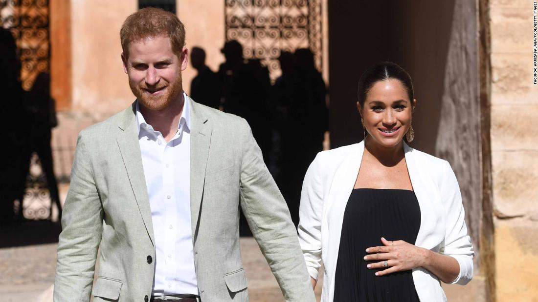 Prince Harry accepts 'substantial' damages after helicopter photos forced royal couple from their home - CNN thumbnail