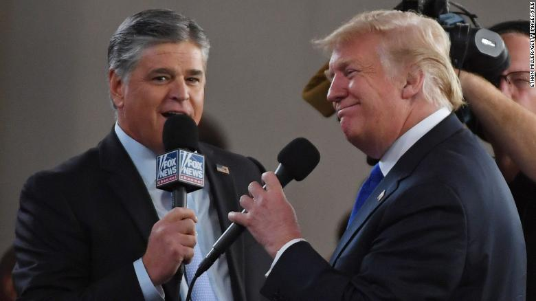 Sean Hannity is already laying the groundwork for a Trump self-pardon