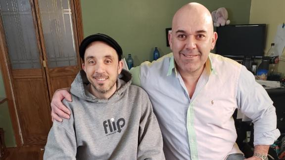 Noah Dionesotes, left, and Chef Juan Carlos Beristain share a special connection