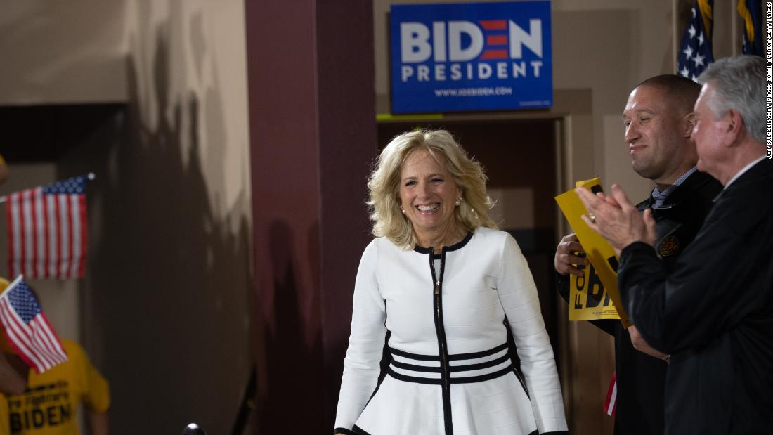 Jill Biden emphasizes electability in 2020 race: 'You've got to look at who's going to win this election'