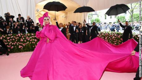 Watch Lady Gaga make her entrance at the Met Gala