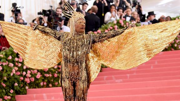 Billy Porter at the Met Gala in May