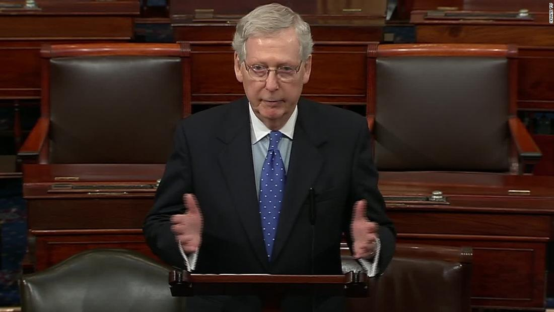 Mitch McConnell just raised the stakes for Democrats on impeachment