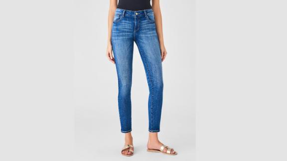 DL1961 Florence Ankle Mid Rise Skinny Salerno Jeans ($179; dl1961.com)