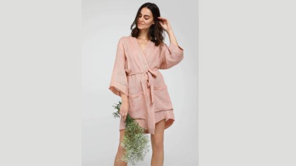 Neu Nomads Organic Linen Wrap Jacket ($148; neunomads.com)