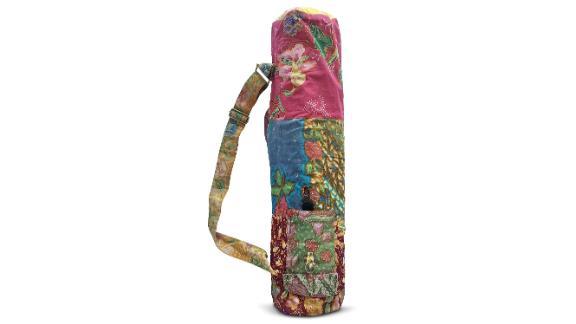 Clever Yoga Vintage Cotton Mat Bag ($34.48; cleveryoga.com)